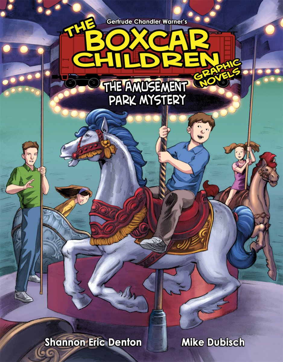 Book 10: the Amusement Park Mystery (The Boxcar Children Graphic Novels) PDF