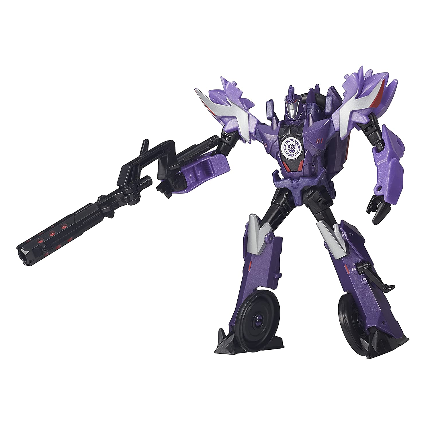Hasbro Transformers B4686ES0 - Robots In Disguise Warriors Klasse - Decepticon Fracture, Actionfigur B4686EL20