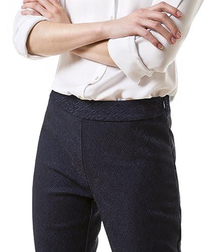 Pantalón en tejido texturizado