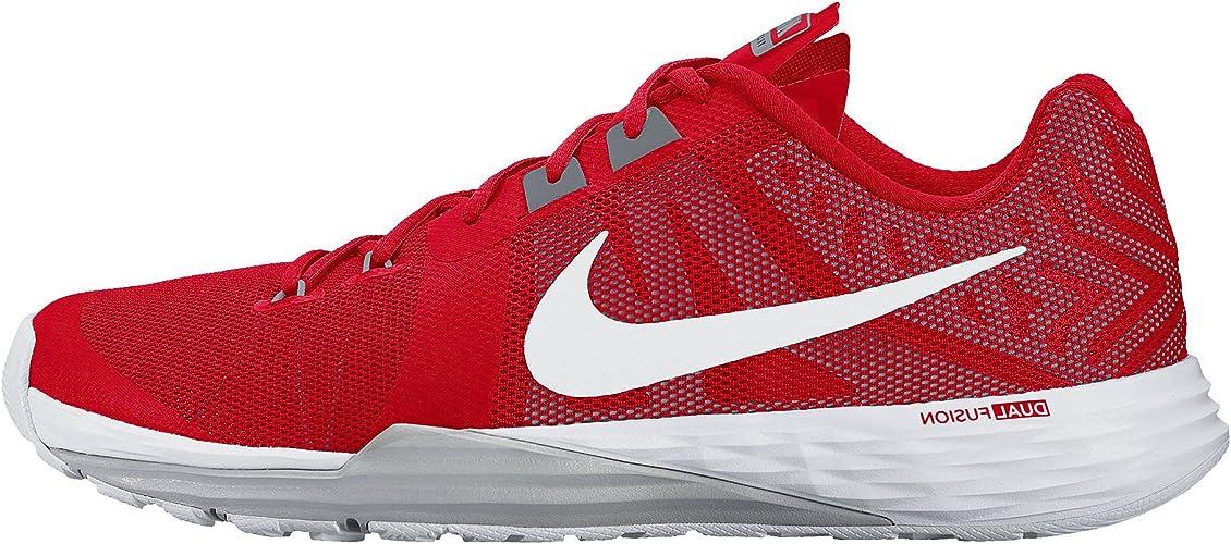 Parque jurásico Desempacando deseable  NIKE Men's Train Prime Iron DF, University Red/White-Cool Grey, 7 D US:  Amazon.co.uk: Shoes & Bags