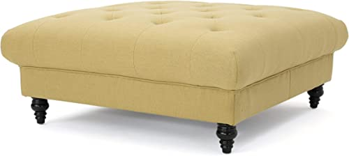Christopher Knight Home Bordeaux Fabric Ottoman