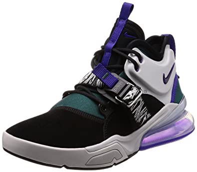 check out 5747d 04eab NIKE Air Force 270 Carnivore Mens Shoes BlackCourt Purple ah6772-005 (9