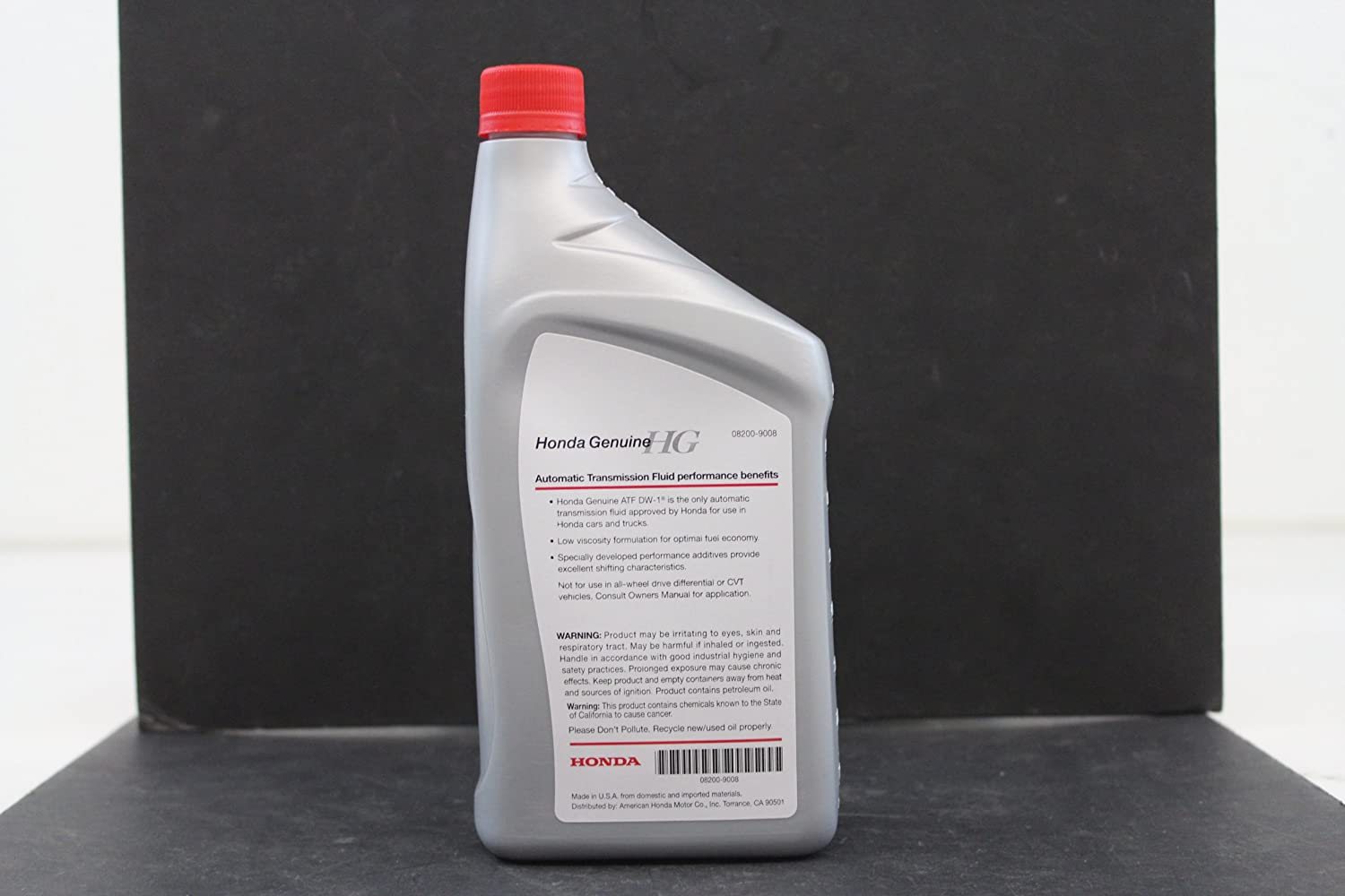 Amazing Amazon.com: Honda Genuine Fluid 08200 9008 ATF DW1 Automatic Transmission  Fluid   1 Quart: Automotive