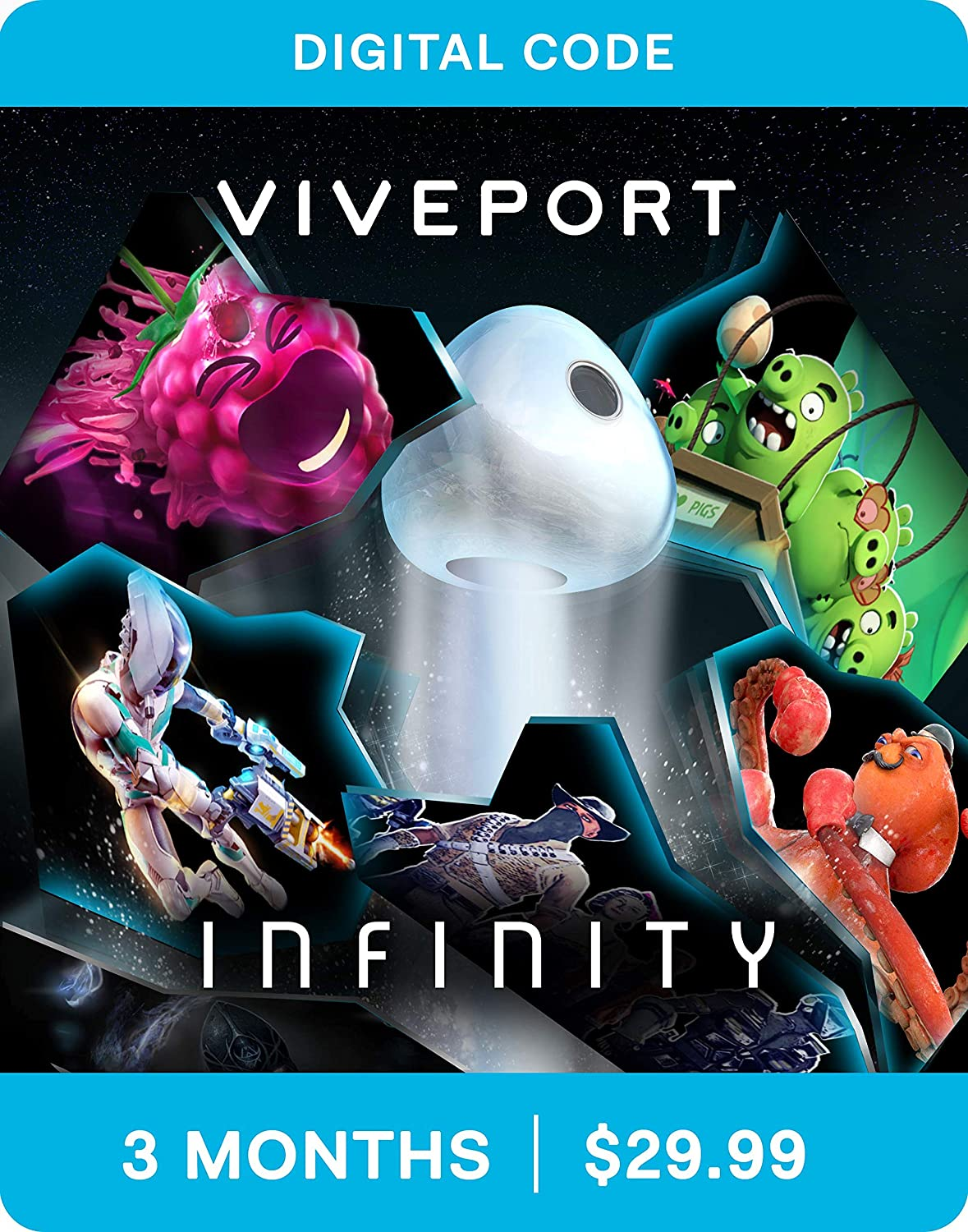 Amazon com: Viveport Subscription: 3 Month Access (Digital Code