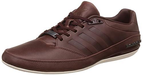 b31e07224fe5 adidas Originals Men s Porsche Typ 64 2.4 Brown Leather Sneakers - 6  UK India (
