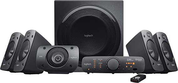 Logitech Z906 5.1 Surround Sound Speaker System - THX