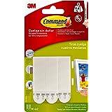 Command 17201 - Pack de 8 tiras para cuadros (medianas, hasta 5.4 kg), color blanco
