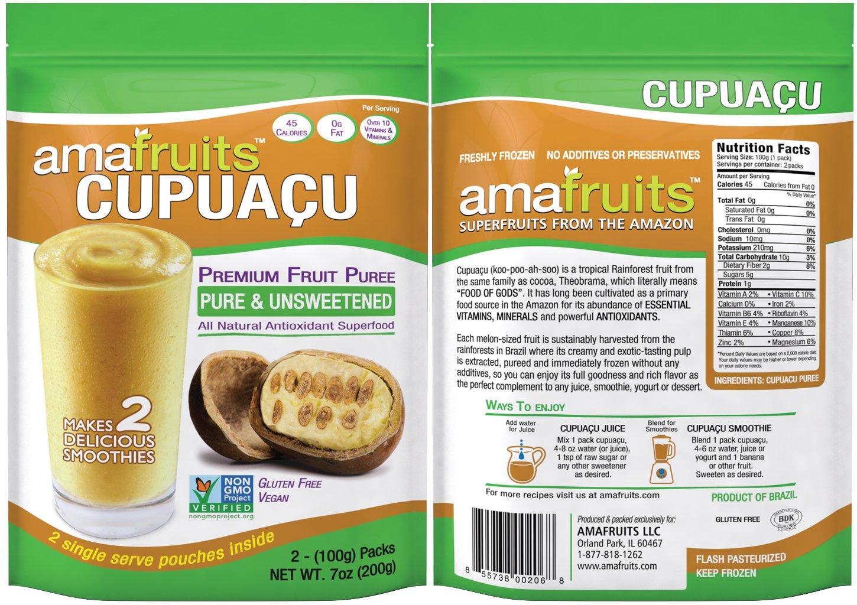 Amafruits Cupuacu Pure & Unsweetened by Amafruits (Image #1)