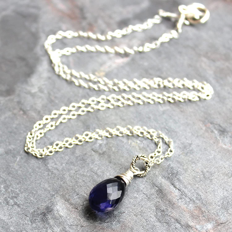18 inch Velvet Cord Healing Gemstone Necklace Mini\u2019s