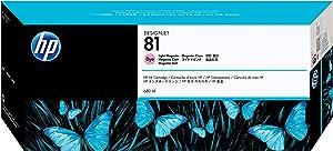 HP 81 C4935A Ink Cartridge for DesignJet 5000 series, 680ml, Light Magenta
