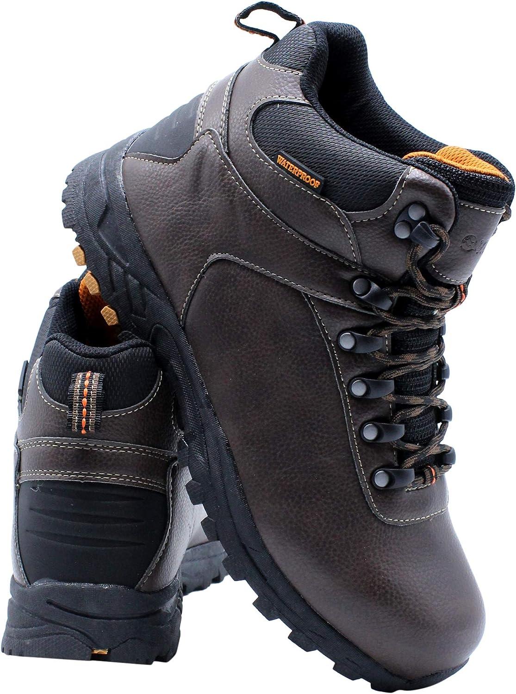 Donner Mountain Mens Waterproof Hiker Ankle Boot – Black