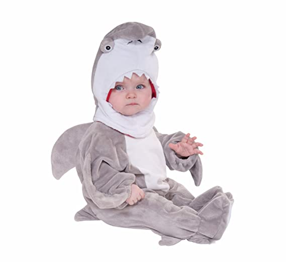 2915ab124 Amazon.com: Forum Novelties Shark Attack Infant Costume-: Toys & Games