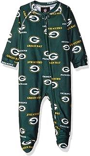 150975d12 Outerstuff NFL Unisex-Baby Newborn   Infant Raglan Zip Up Coverall