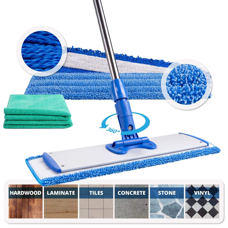 Microfiber Wholesale-Stainless Steel Microfiber Mop