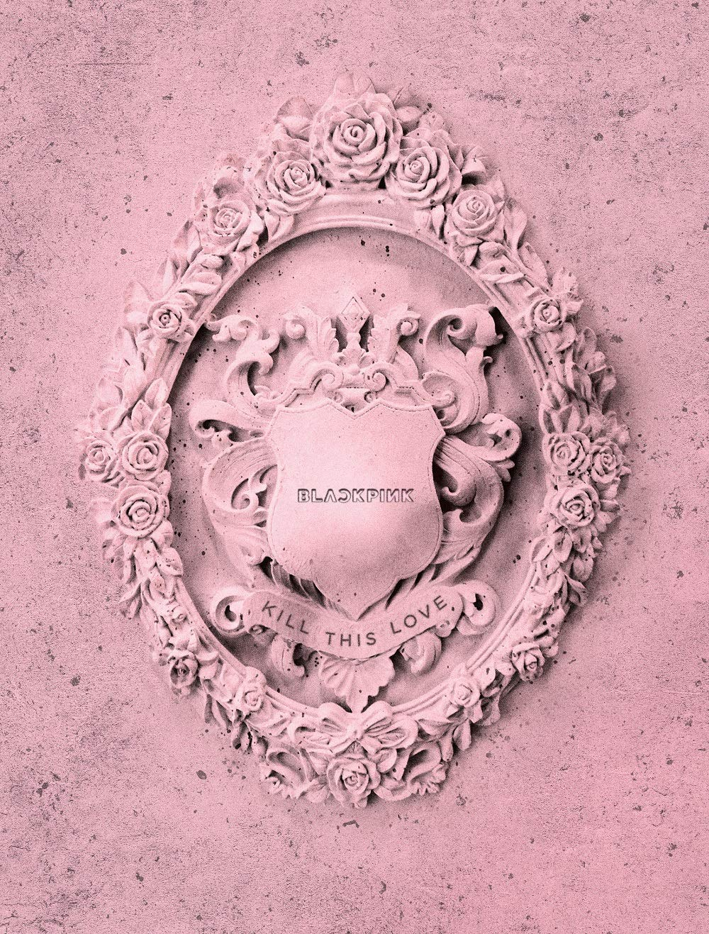 YG Blackpink - Kill This Love [Pink ver.] (2nd Mini Album) CD+52p Photobook+Lyrics Book+4Photocards+Polaroid Photocard+Sticker Set+On Pack Poster+Folded Poster+Double Side Extra Photocards Set by YG