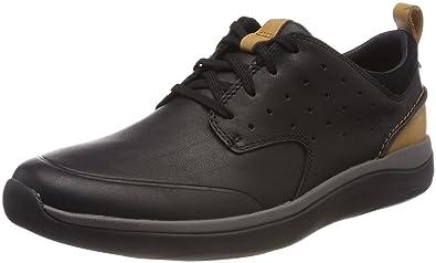Clarks Orson Bay, Sneakers Basses Homme, Gris (Grey Nubuck), 47 EU
