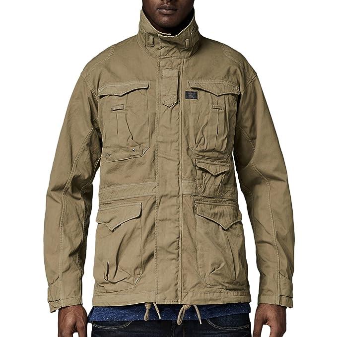 G-Star - Abrigo - para Hombre Verde Large
