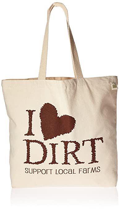 Eco-Bags Products I Love Dirt Farmers Market Tote