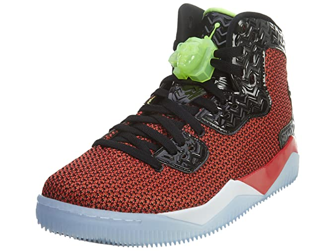 size 40 10d09 45f3c Nike Air Jordan Spike Forty Mens Hi Top Basketball Trainers 819952 Sneakers  Shoes (UK 6.5 US 7.5 EU 40.5, University Red Ghost Green Black White 605)   ...
