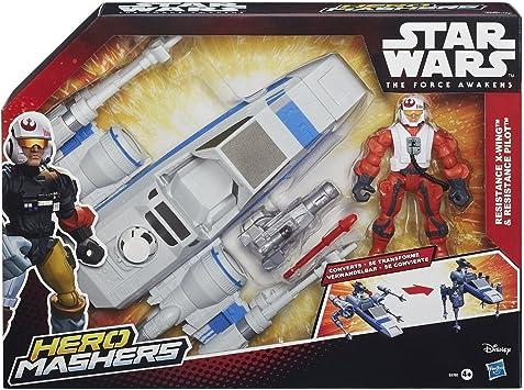 Star Wars El Despertar De La Fuerza Hero Mashers Ataque Vehículo ...