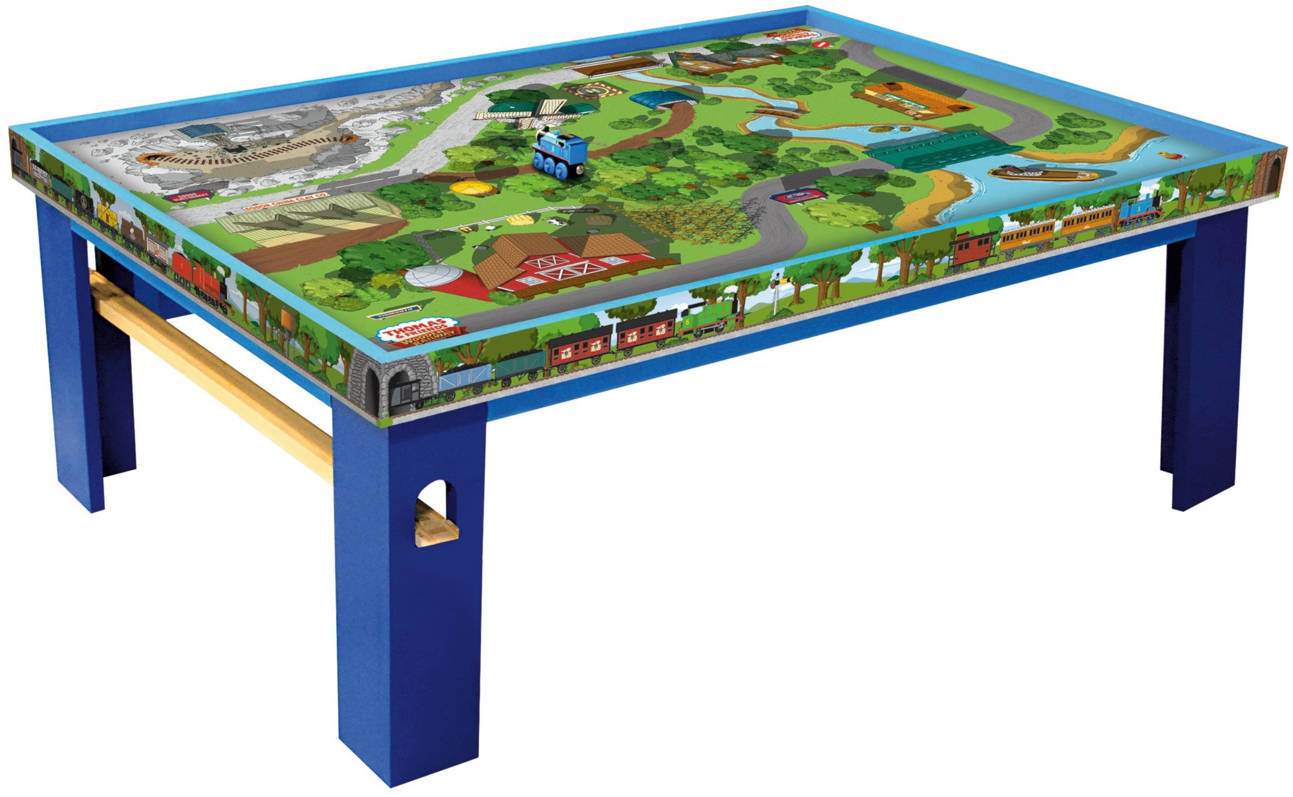 Fisher-Price Thomas & Friends Wooden Railway Island of Sodor Playtable