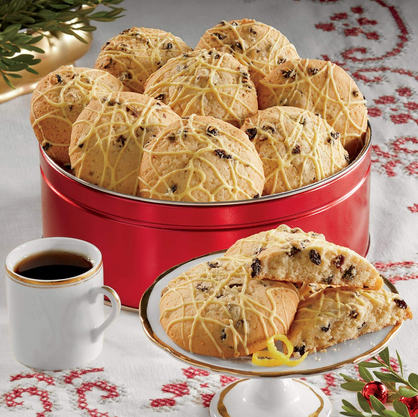 Lemon Currant Scones from The Swiss Colony