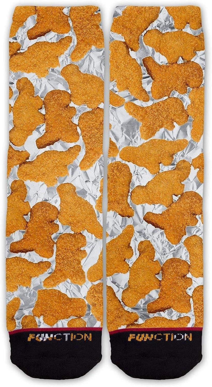 Function - Dinosaur Chicken Nuggets Pattern Fashion Socks