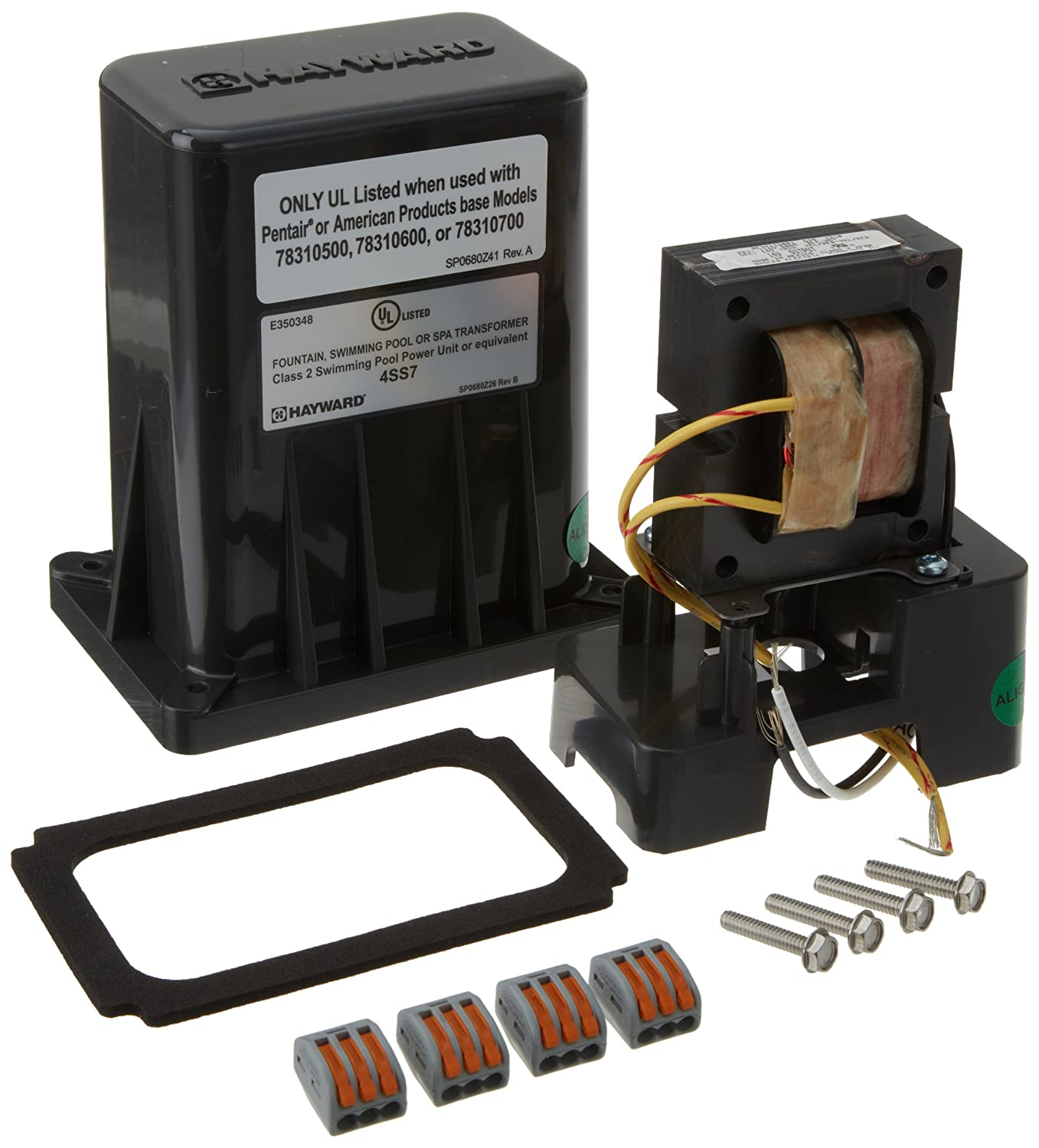 Amazon hayward lrbuy11p65 universal colorlogic xfmr amazon hayward lrbuy11p65 universal colorlogic xfmr transformer converter replacement kit for pentair 70 watt junction box swimming pool and spa sciox Gallery