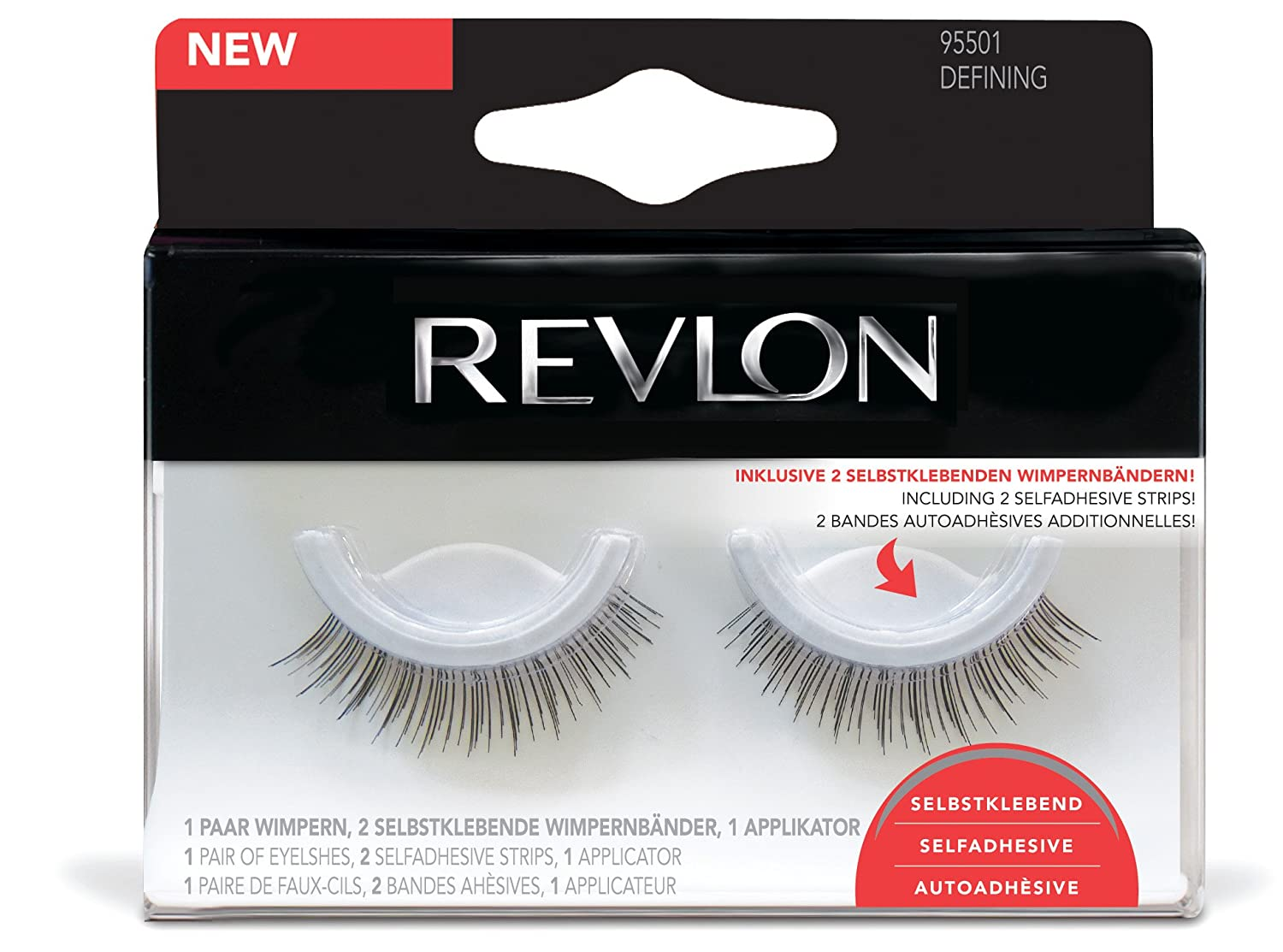 adf3711e161 Buy Revlon Defining False Lashes Self-Adhesive 1 Pair Online at Low Prices  in India - Amazon.in