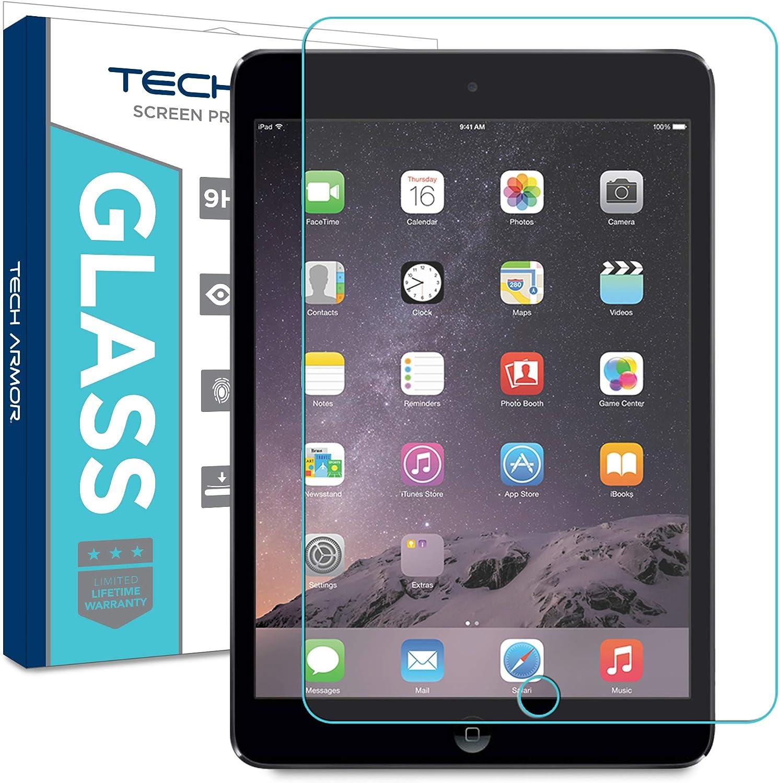 Tech Armor Premium Ballistic Glass Screen Protector for Apple iPad Air/Air 2 / New iPad 9.7 (2017) [1-Pack]