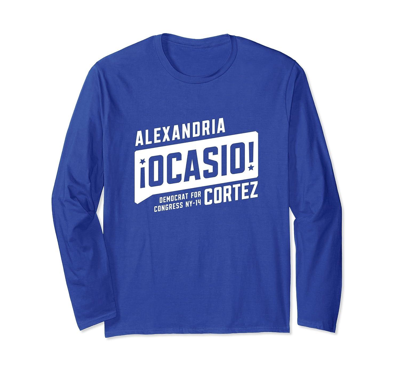 Alexandria Ocasio Cortez Long Sleeve T Shirt Men / Women-mt