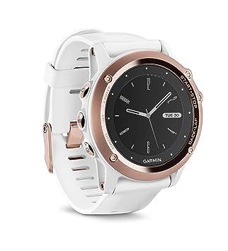 Garmin Fenix 3 Sapphire Gps Multisport Watch With Outdoor Navigation Rose Gold