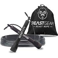 Beast Gear Springtouw - Speed Rope voor fitness, uithoudingsvermogen en afvallen. Ideaal voor boksen, MMA, Crossfit…