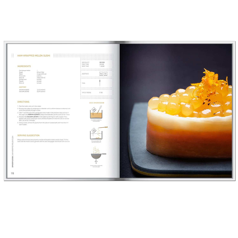 Molecule R Evolution Cuisine Kit plus Molecular Gastronomy Book