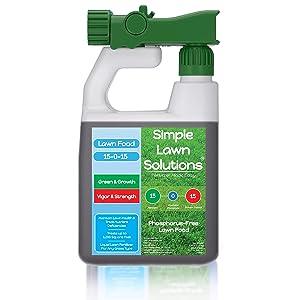 Simple Lawn Solutions Superior Nitrogen & Potash Lawn Fertilizer
