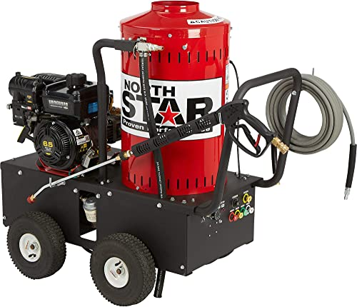 NorthStar Gas Wet Steam and Hot Water Pressure Washer – 2700 PSI, 2.5 GPM, Briggs Stratton Engine