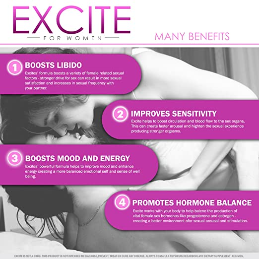 What excites women