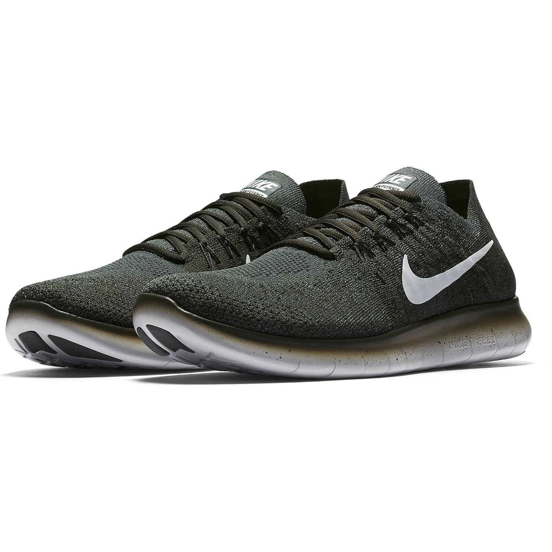 Nike Free Rn Flyknit 2017 Size 11.5 Mens Running Vintage