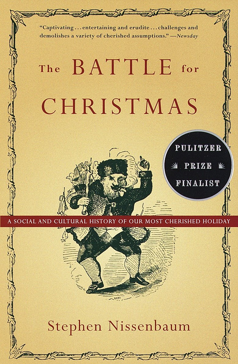 Image result for the battle for christmas by stephen nissenbaum""