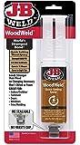 J-B Weld 50151 Light Tan WoodWeld Epoxy Syringe - .85 fl. oz.
