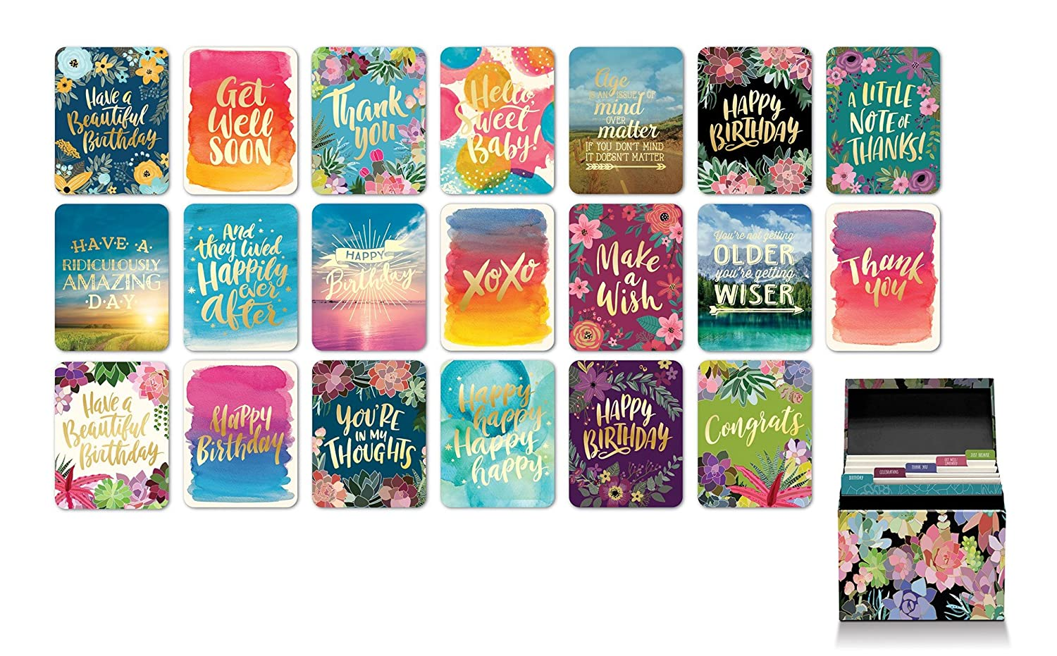 Amazon Studio Oh Boxed Set Of 20 All Occasion Greeting Cards