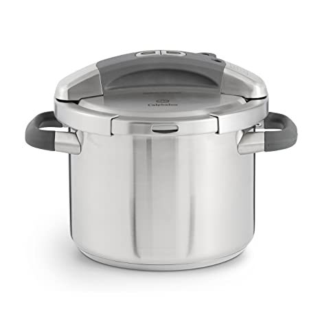 Amazon.com: Calphalon olla de presión de acero inoxidable, 6 ...