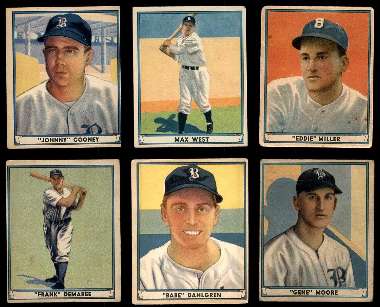 1941 Play Ball Boston Braves Team Set Boston Braves (Baseball Set) Dean's Cards 3 - VG Braves 81eRZ4vXMBLSL1500_