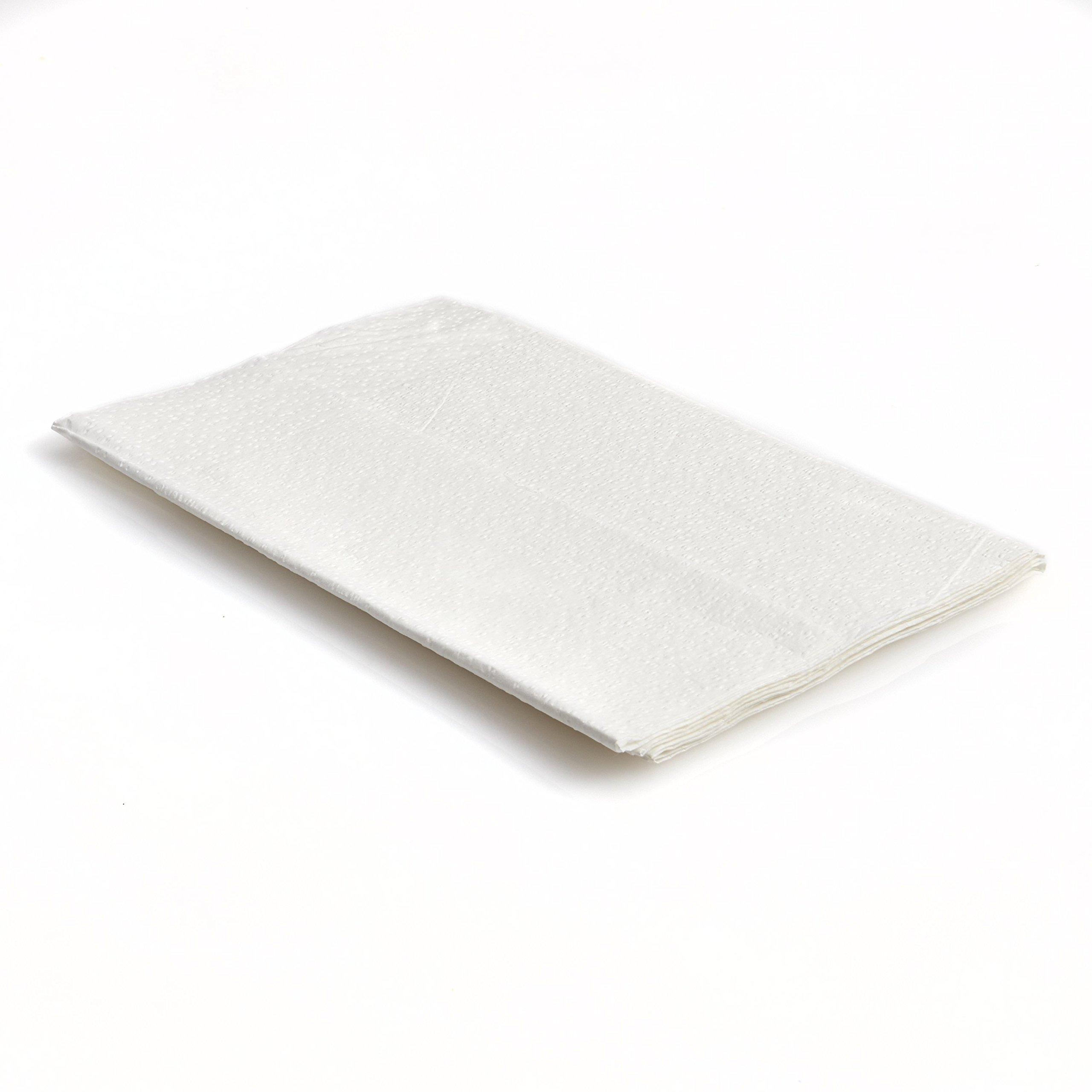 Graham Medical 70309N Drape Sheet, 2 Ply, 36''w x 60''l, Fanfold (Pack of 100)