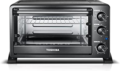 Toshiba MC25CEY BS Convection Oven 6 Slice Bread 12 Inch Pizza