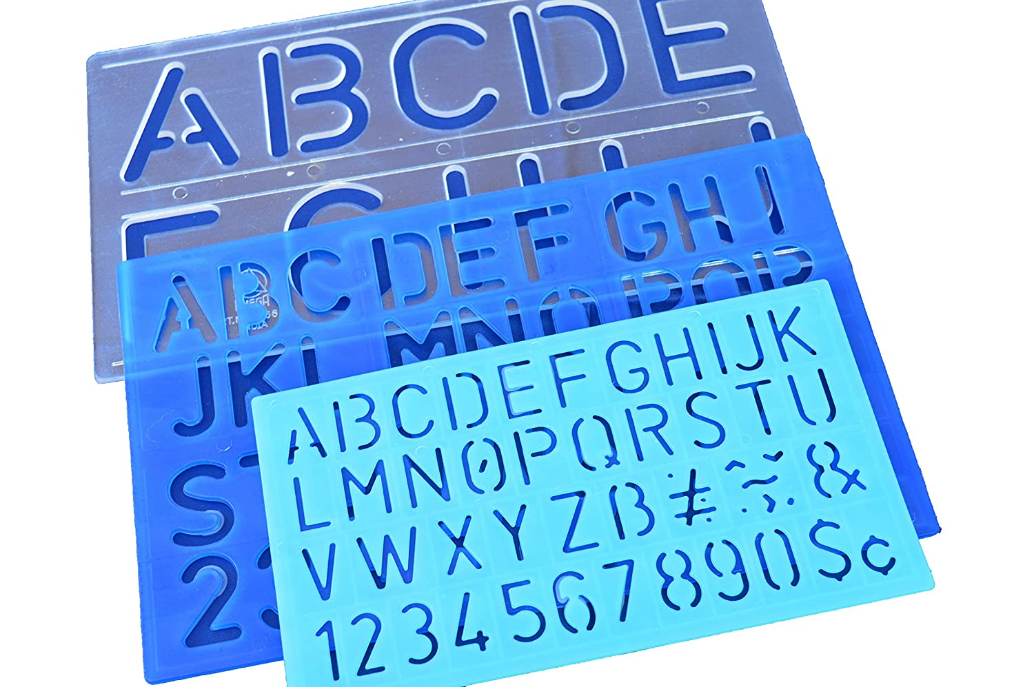 50mm 30mm 20mm Stencils Letters Numbers ALPHABET STENCIL Set HONGBE