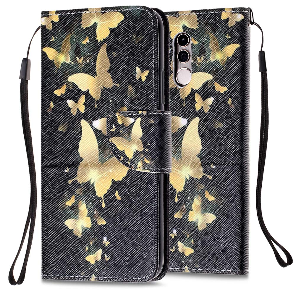 WIWJ Compatible with Huawei Mate 20 Lite Case,3D Painted Pattern Designed PU Leather Case Wallet WITH Stand Flip Cover Case with Card Holder Shockpoof Case for Huawei Mate 20 Lite-Sex Cat