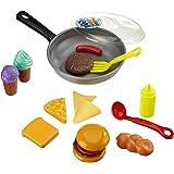 Happy People 45014 - Pfanne 30 cm mit Lebensmitteln mit Kelle