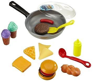 Happy People 45014 - Sartén con alimentos de juguete [Importado de Alemania]: Amazon.es: Juguetes y juegos