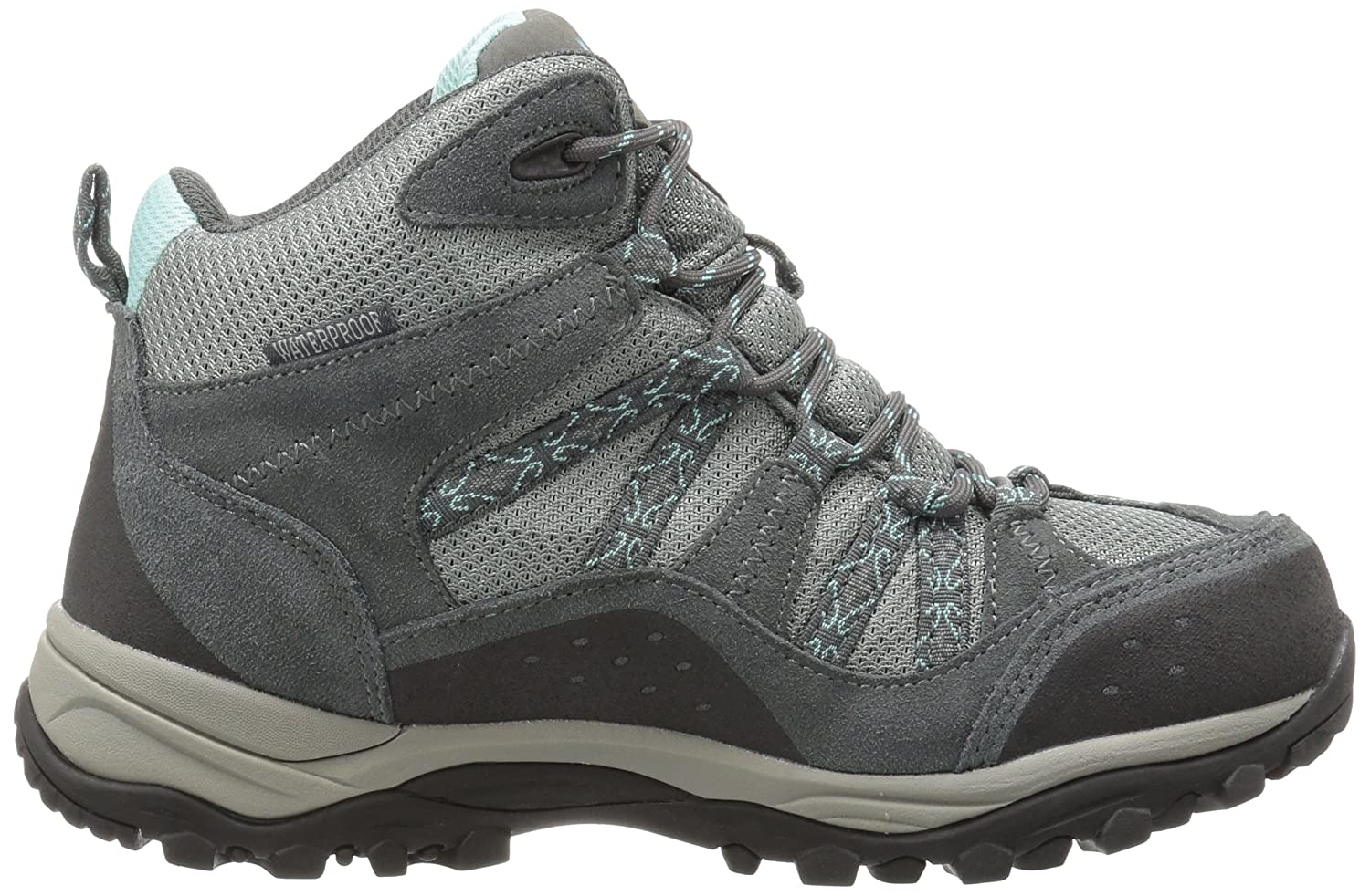 Northside Womens Freemont Leather Mid Waterproof Hiking Boot Freemont-W